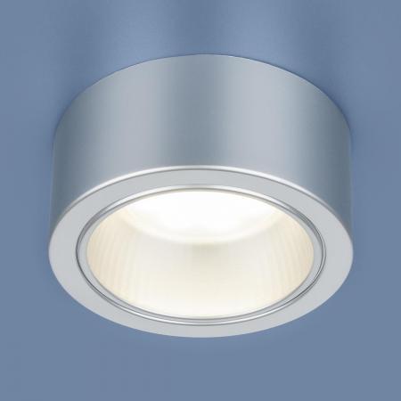 Накладной светильник Elektrostandard 1070 GX53 SL серебро 4690389087561 elektrostandard накладной точечный светильник elektrostandard 1070 gx53 bk черный 4690389087554