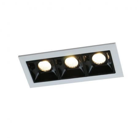 Купить Встраиваемый светодиодный светильник Arte Lamp Grill A3153PL-3BK