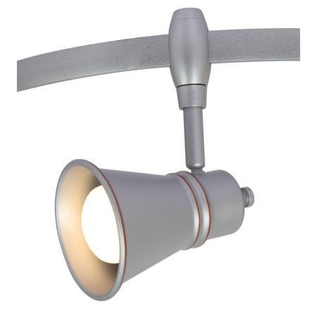 Трековый светильник Arte Lamp A3057PL-1SI arte lamp трековый светильник arte lamp a3057pl 1wh