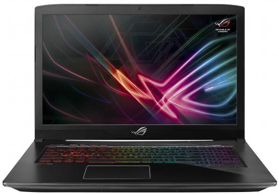 Ноутбук ASUS ROG GL703GM-EE036T 17.3 1920x1080 Intel Core i7-8750H 1 Tb 256 Gb 16Gb Bluetooth 5.0 nVidia GeForce GTX 1060 6144 Мб черный Windows 10 Home 90NR00G1-M00510 ноутбук asus rog g752vs core i7 7820hk 2 9ghz 64gb 2tb ssd2x256gb nv gtx1070 w10 home 90nb0d71 m07090