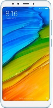 Смартфон Xiaomi Redmi 5 синий 5.7 32 Гб LTE Wi-Fi GPS 3G (Redmi5B32GB) смартфон meizu m5 note серебристый 5 5 32 гб lte wi fi gps 3g