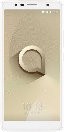 Смартфон Alcatel 3C 5026D золотистый металлик 6 16 Гб Wi-Fi GPS 3G 5026D-2CALRU1 смартфон alcatel u5 3g 4047d черный синий 5 8 гб wi fi gps 3g 4047d 2calru1