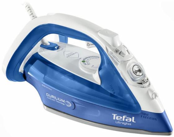 Утюг Tefal FV4952E0 2500Вт синий утюг tefal fv3970