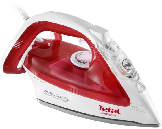 Утюг Tefal FV3962E0 2400Вт белый/красный утюг supra is 2406 2400вт белый