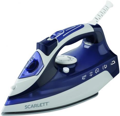 лучшая цена Утюг Scarlett SC-SI30K21 2200Вт белый/фиолетовый