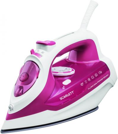 Утюг Scarlett Scarlett SC-SI30K28 2400Вт розовый scarlett sc si30k28 утюг