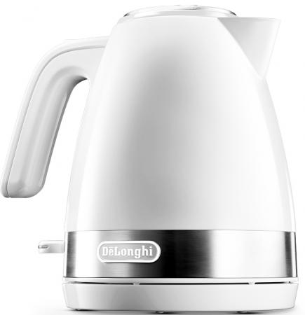 Чайник DeLonghi KBLA 2000 W Active Line 2000 Вт белый 1 л пластик otis james the princess and joe potter