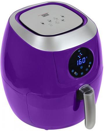 цена на Аэрогриль GFGRIL GFA-5000 фиолетовый серебристый