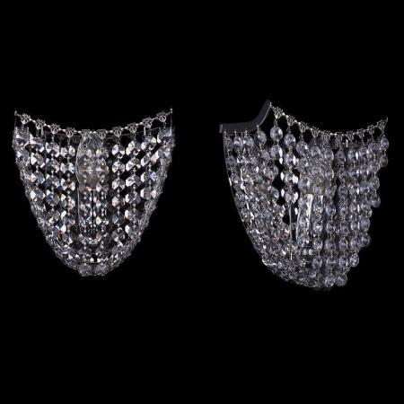 Бра Bohemia Ivele 7708/1W/Ni bohemia ivele crystal бра bohemia ivele crystal 7708 1w g