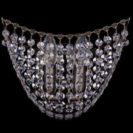 Бра Bohemia Ivele 7708/2W/Pa bohemia ivele crystal бра bohemia ivele crystal 7708 2 w pa