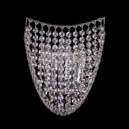 Бра Bohemia Ivele 7708/3S/Ni bohemia ivele crystal бра bohemia ivele crystal 7708 1 s ni
