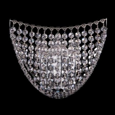 Бра Bohemia Ivele 7708/3W/Ni bohemia ivele crystal бра bohemia ivele crystal 7708 1 s ni