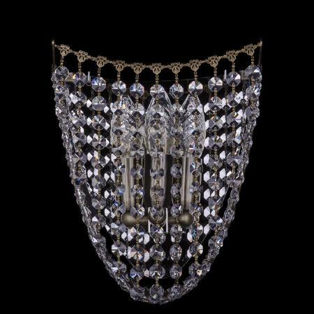 Бра Bohemia Ivele 7708/3S/Pa bohemia ivele crystal бра bohemia ivele crystal 7708 2 w pa