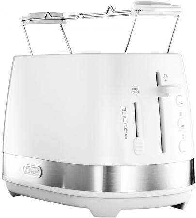 Тостер Delonghi CTLA2103.W 900Вт белый сэндвич тостер ariete 1981 900вт