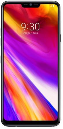 Смартфон LG G7 ThinQ черный 6.1 64 Гб NFC LTE Wi-Fi GPS 3G G710EMV смартфон