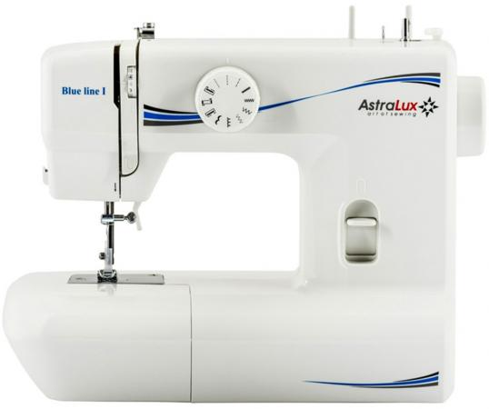 Швейная машина Astralux Blue line I белый швейная машинка astralux blue line ii