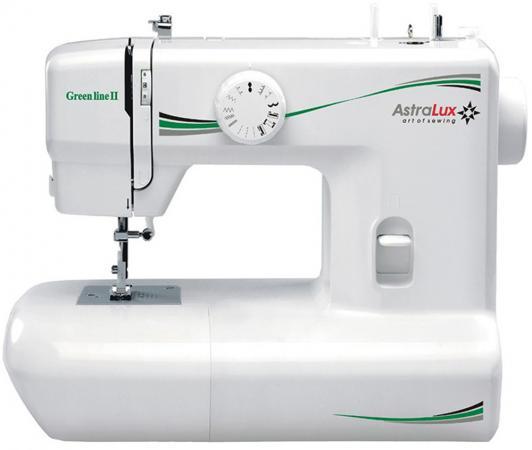 Швейная машина Astralux Green line II белый швейная машинка astralux blue line ii