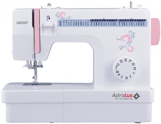 Швейная машина Astralux Fantasy белый/розовый швейная машинка astralux spring