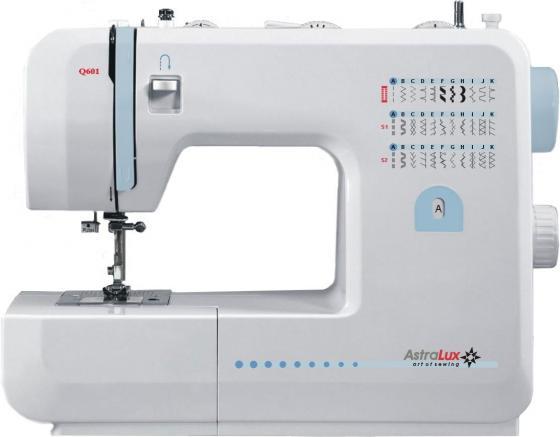 Швейная машина Astralux Q601 белый швейная машинка astralux 7300 pro series
