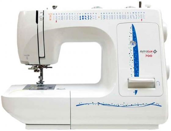 Швейная машина Astralux 700 белый/синий швейная машина astralux blue line i