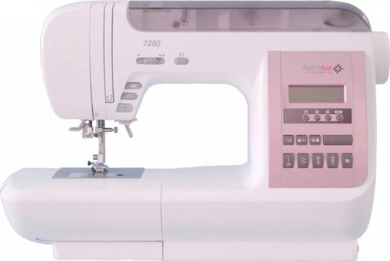 Швейная машина Astralux 7250 белый/розовый astralux dp 0015