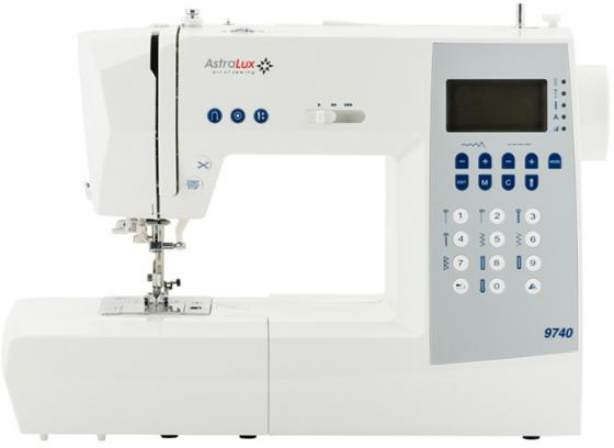 Швейная машина Astralux 9740 белый швейная машинка astralux spring