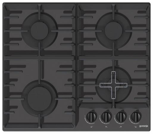 Варочная панель газовая Gorenje GT641ZB черный варочная панель электрическая gorenje ect693orab черный