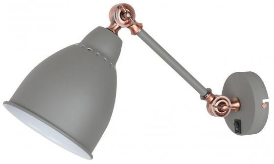 Спот Arte Lamp Braccio A2054AP-1GY бра arte lamp braccio a2054ap 1ss