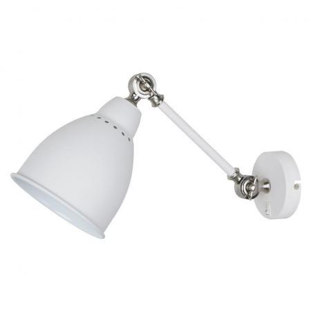 Спот Arte Lamp Braccio A2054AP-1WH спот arte lamp braccio a2054ap 1gy