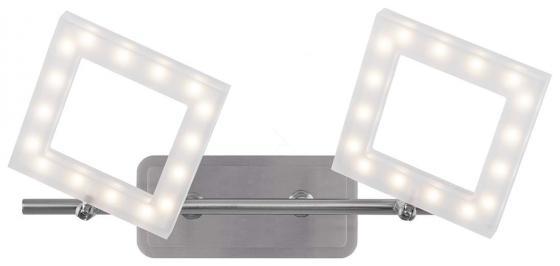 Светодиодный спот IDLamp Piazza 106/2A-LEDWhitechrome светодиодный спот idlamp piazza 106 1a ledwhitechrome