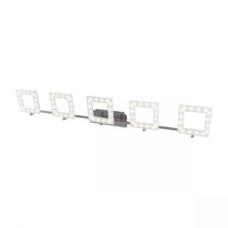 Светодиодный спот IDLamp Piazza 106/5PF-LEDWhitechrome светодиодный спот idlamp piazza 106 1a ledwhitechrome