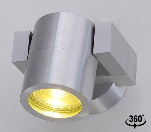 Спот Crystal Lux CLT 020CW AL crystal lux бра crystal lux clt 511w425 gr