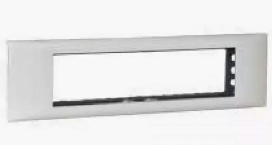 Суппорт Mosaic Legrand на 8 мод 65мм 10981 щиток встраиваемый legrand practibox 4x18 мод прозр дверь с клеммником заземления 401709