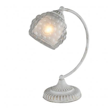 Настольная лампа IDLamp Bella 285/1T-Whitepatina настольная лампа idlamp bella 285 1t whitepatina