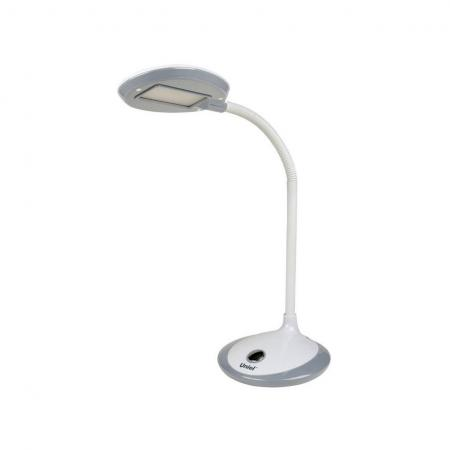 Настольная лампа (UL-00000417) Uniel TLD-527 Grey/LED/400Lm/4500K