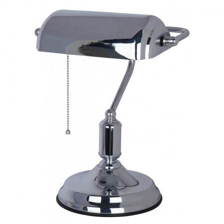 Настольная лампа Arte Lamp Banker A2494LT-1CC arte lamp настольная лампа arte lamp bank a1200lt 1cc