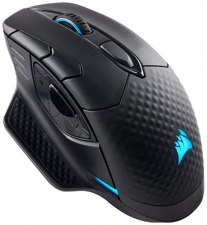 Мышь беспроводная Corsair Gaming Gaming Dark Core SE RGB чёрный USB + Bluetooth CH-9315111-EU игровая гарнитура беспроводная corsair gaming void pro rgb wireless se желтый черный ca 9011150 eu