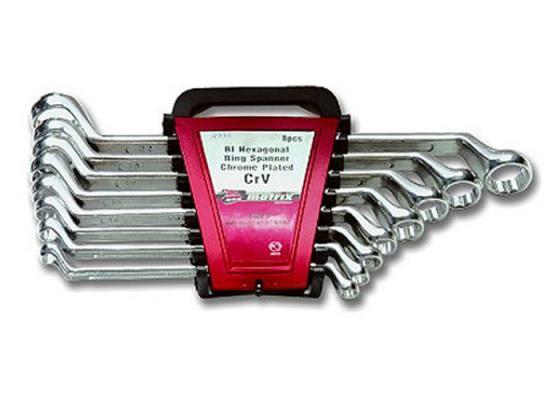 Набор накидных ключей MATRIX 15332 (6 - 22 мм) 8 шт. набор накидных ключей 10 24 мм 6 предметов king tony 1f06mrn