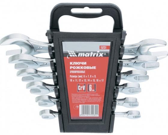 Набор рожковых ключей MATRIX 15231 (17 мм) 6 шт.