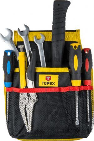 Карман для инструмента Topex 79R430 11 гнезд topex 03a149