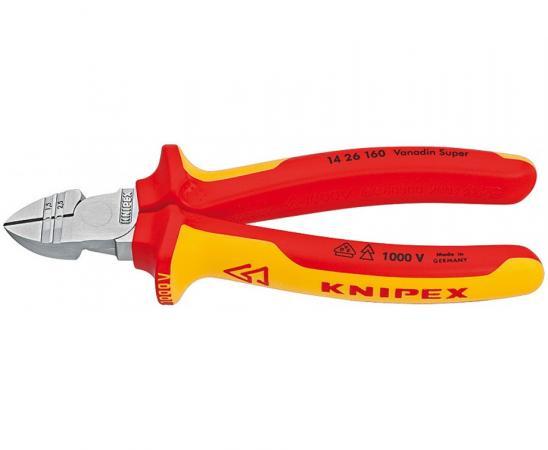 Бокорезы KNIPEX KN-1426160 для электр. 1000 V бокорезы knipex kn 7861125 для электроники