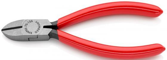 Кусачки KNIPEX KN-7001125 боковые фосфатированные 125 mm бокорезы knipex kn 1426160