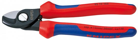 Кусачки KNIPEX KN-9512165 Для Cu - и Al кабелей lk 380 ratchet cable cutter for cutting 380mm2 cu al cables germany style