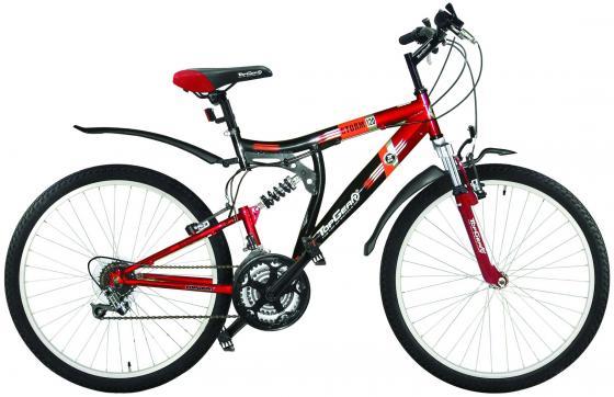 Велосипед двухколёсный Top Gear Storm 120 черно-красный ВН26217Н автокосметика top gear