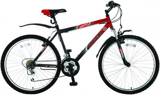 Велосипед двухколёсный Top Gear Kinetic 110 18 черно-красный ВН26248Н детский велосипед riverbike f 18 красный rivertoys