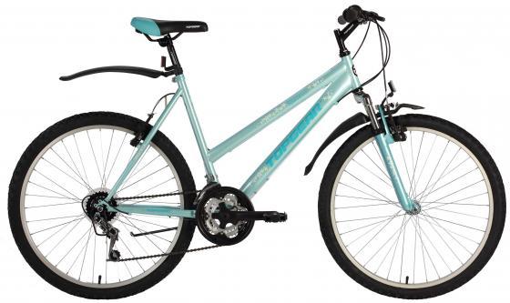 Велосипед двухколёсный Top Gear Riviera 110 16,5 бирюзовый ВН26330Н