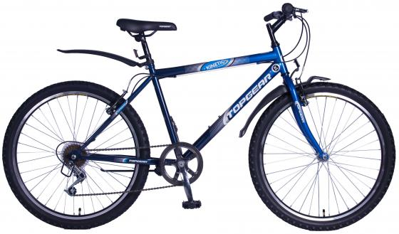 Велосипед двухколёсный Top Gear Kinetic 100 18 синий 700c 100% full carbon fiber bike frame track and fixed gear single speed top tube 51 5cm 53 5 56cm 59 5cm