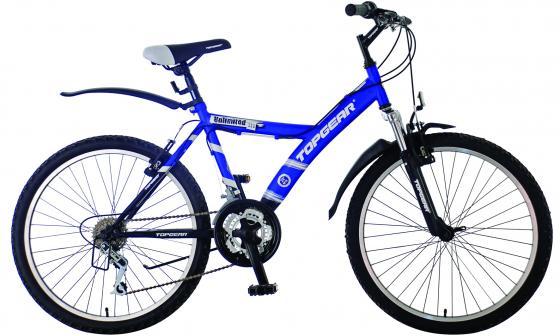 Велосипед двухколёсный Top Gear ВН24056Н сине-черный ВН24056Н dk eyewitness top 10 travel guide scotland