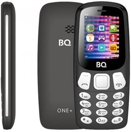 BQ 1845 One+ Black Мобильный телефон мобильный телефон bq 2808 telly white blue