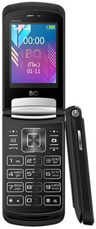 Мобильный телефон BQ 2433 Dream Duo черный 2.4 64 Мб мобильный телефон ark benefit u281 белый 2 8 32 мб 3 симкарты